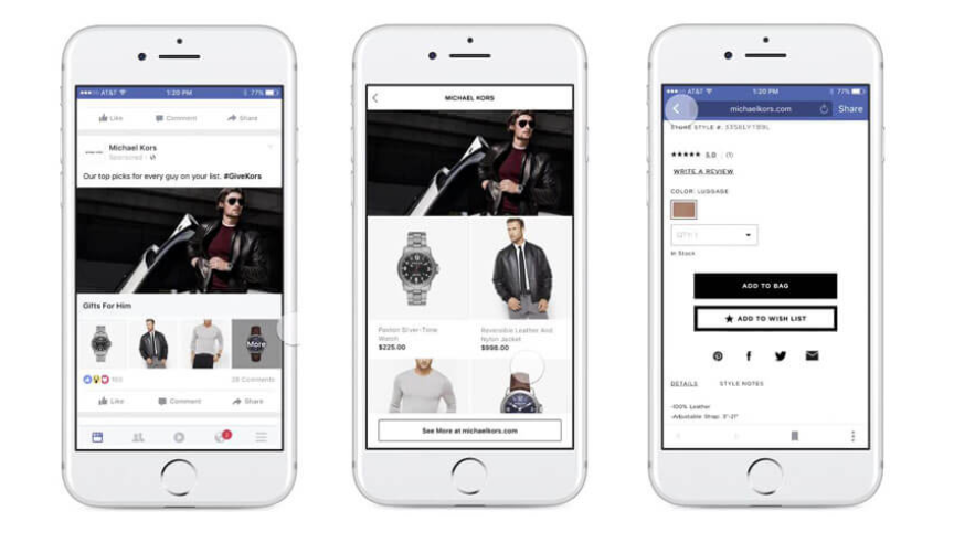 Facebook Collection Ads in Fashion - Facebook Ads MTH Digital